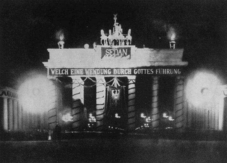 Deutschland Brandenbruger Tor Sedan