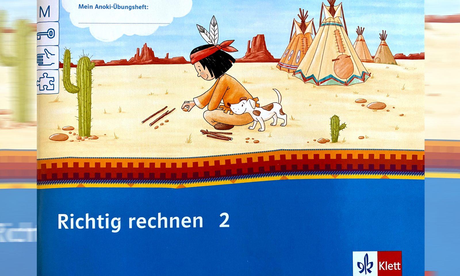 Indianer-Schulbuch