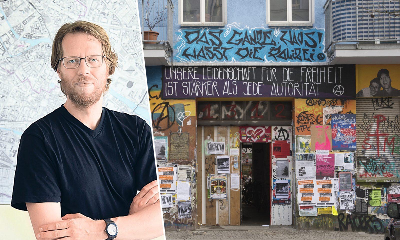 Florian Schmidt (Grüne), Rigaer Straße 94