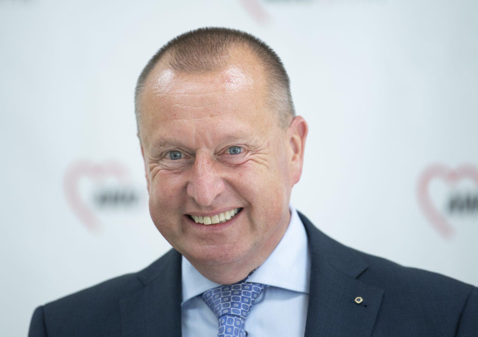 Der Vorstandsvorsitzende der Frankfurter AWO, Steffen Krollmann, räumt eine höhere Schadenssumme ein Foto: picture alliance/Boris Roessler/dpa