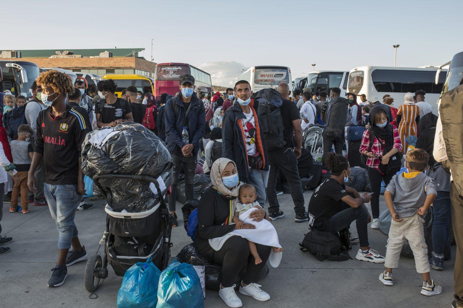 Moria-Migranten