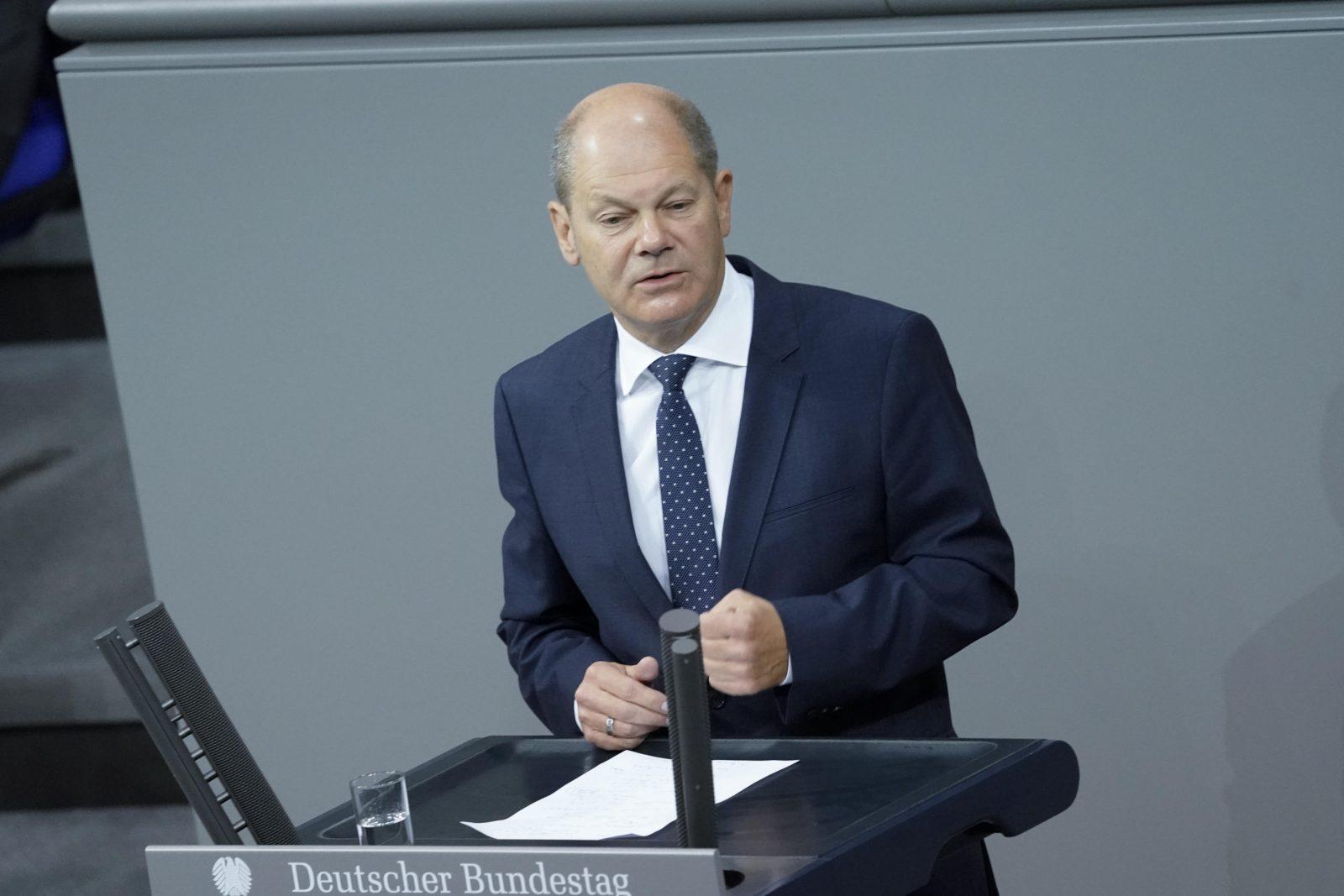 Vize-Kanzler Olaf Scholz (SPD) will die Sicherheitsbehörden auf Rassismus überprüfen lassen Foto: picture alliance