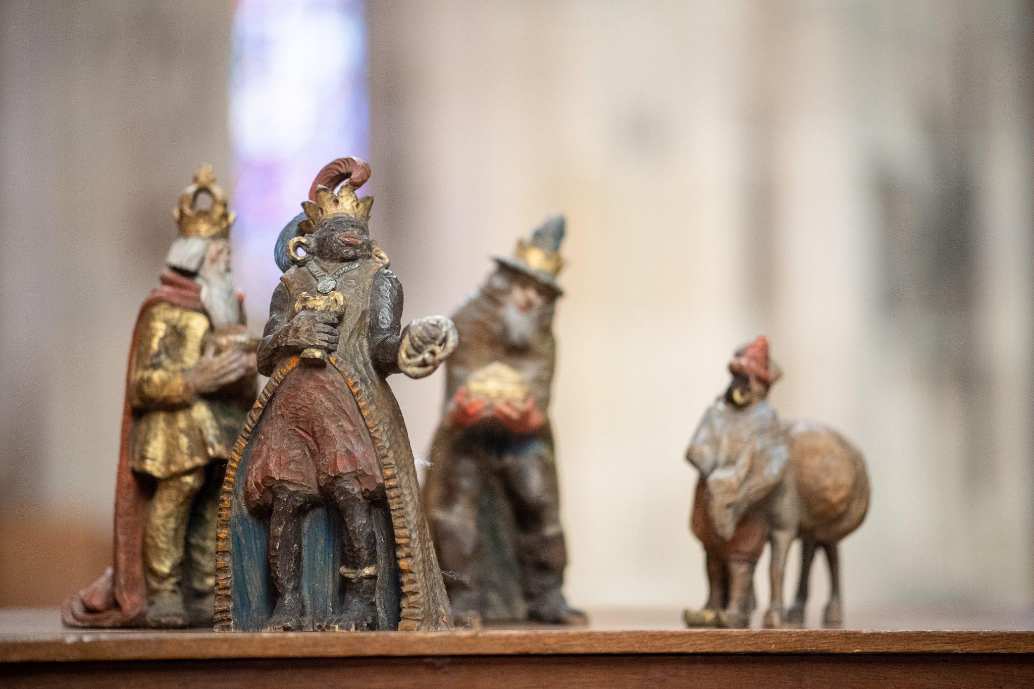 Politische Korrektheit: Heilige Drei Könige aus Krippe des Ulmer Münsters entfernt