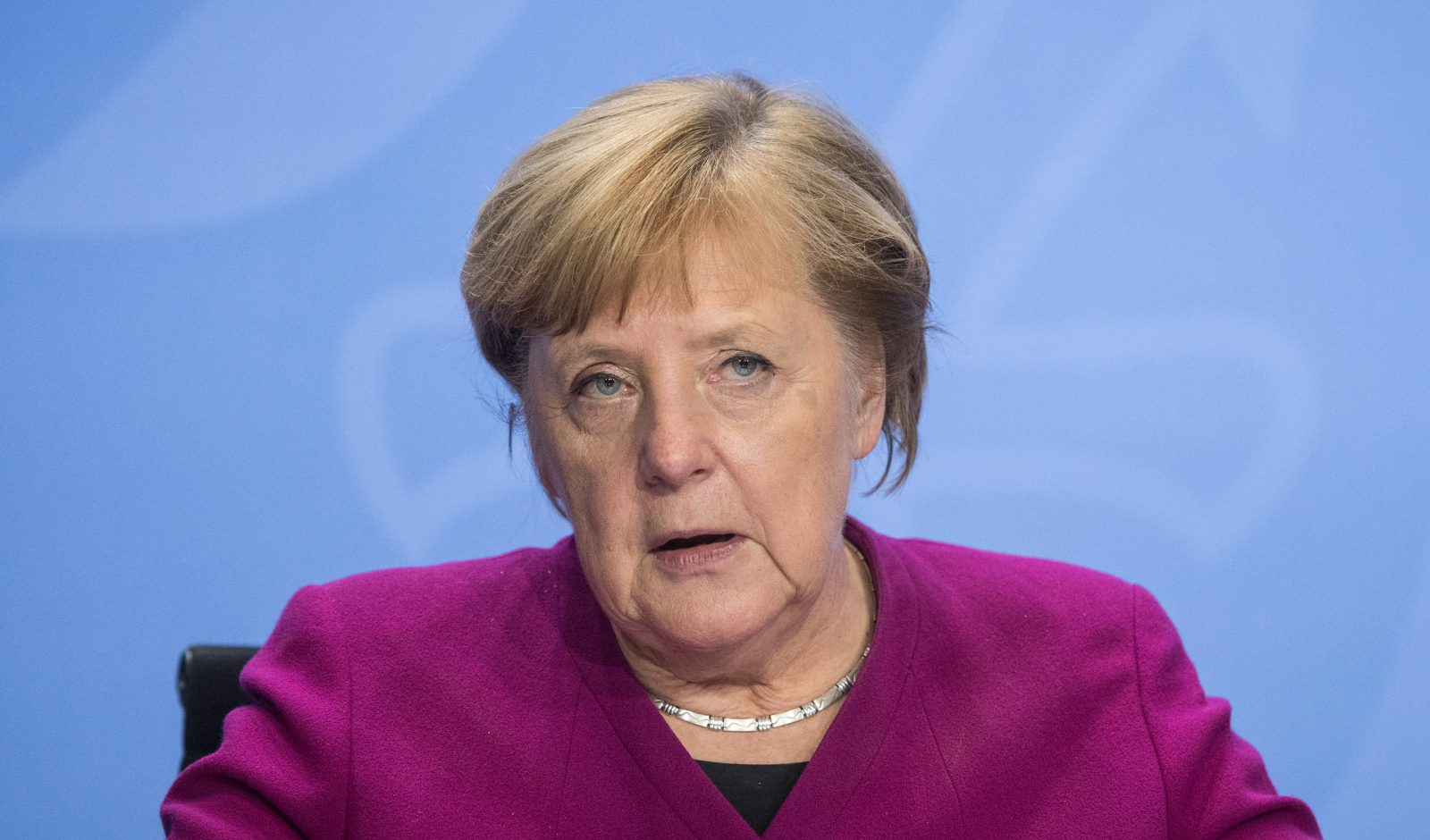 Bundeskanzlerin Angela Merkel (CDU) hätte sich strengere Corona-Regeln gewünscht Foto: picture alliance/Stefanie Loos/AFP POOL/dpa