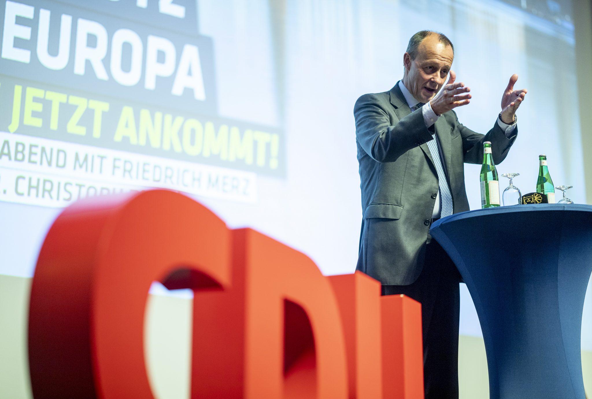 Friedrich Merz: Will CDU-Vorsitzender werden