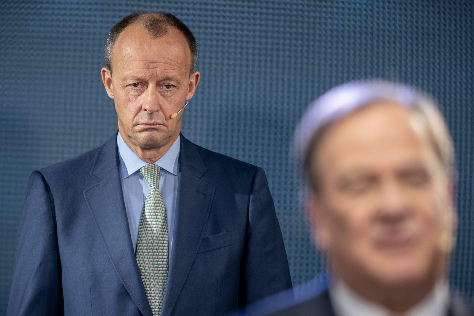 Der Kandidat für den CDU-Vorsitz, Friedrich Merz, fühlt sich von der Parteiführung benachteiligt Foto: picture alliance/Michael Kappeler/dpa-pool/dpa