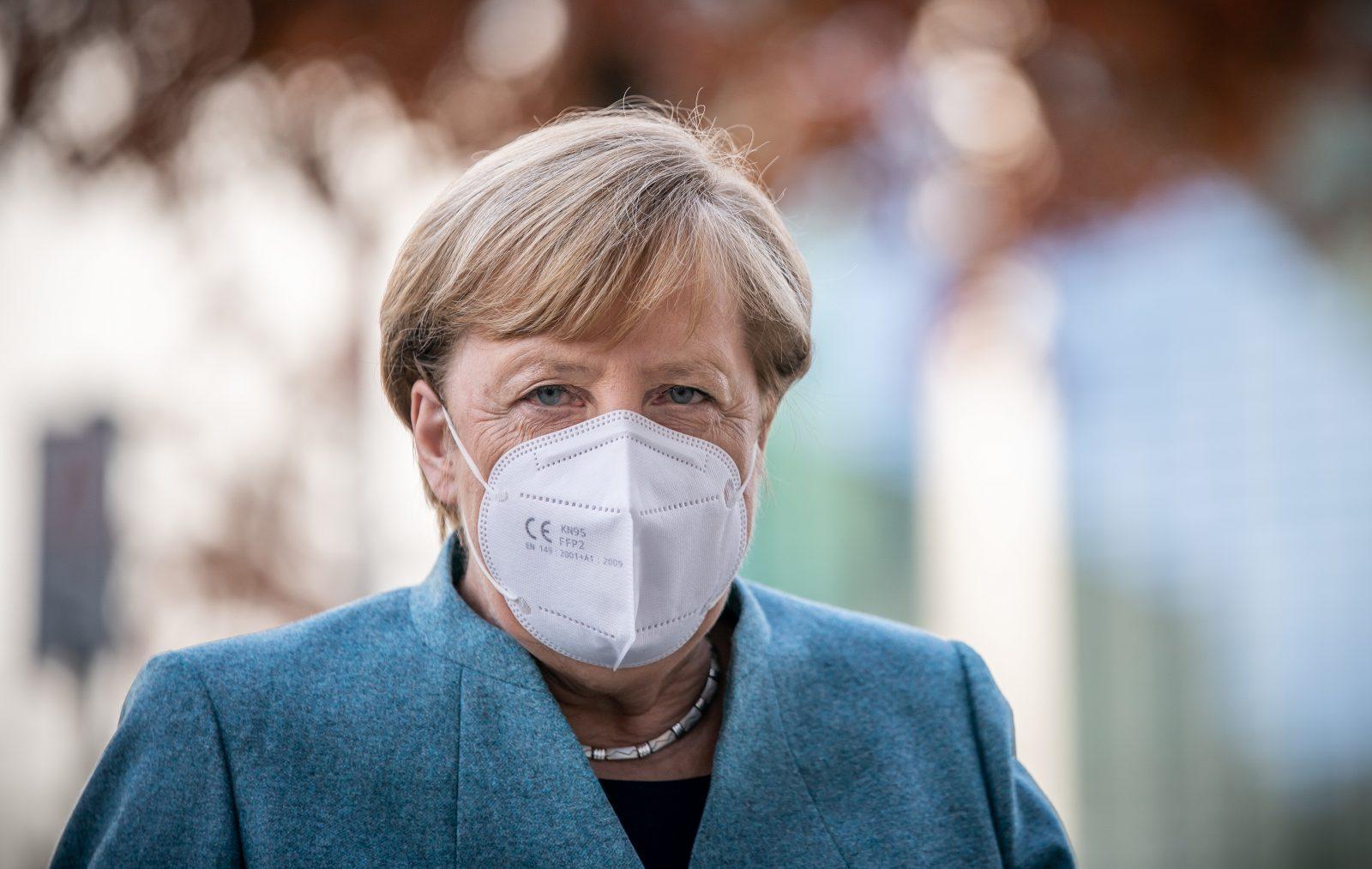 Bundeskanzlerin Angela Merkel (CDU) warnt vor Corona-Chaos