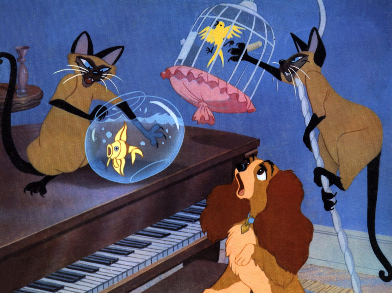 Disney-Klassiker Susi und Strolch