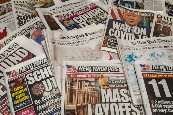 New Yorker Zeitungen