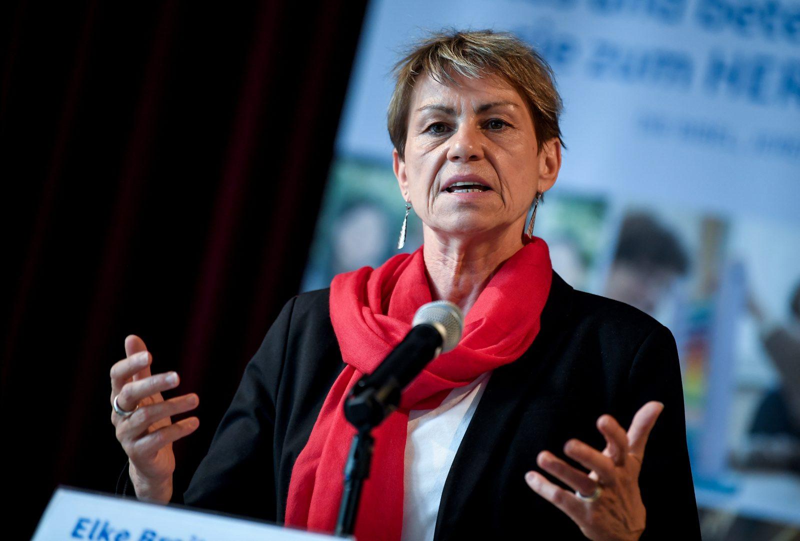 Sozialsenatorin Elke Breitenbach (Linkspartei)