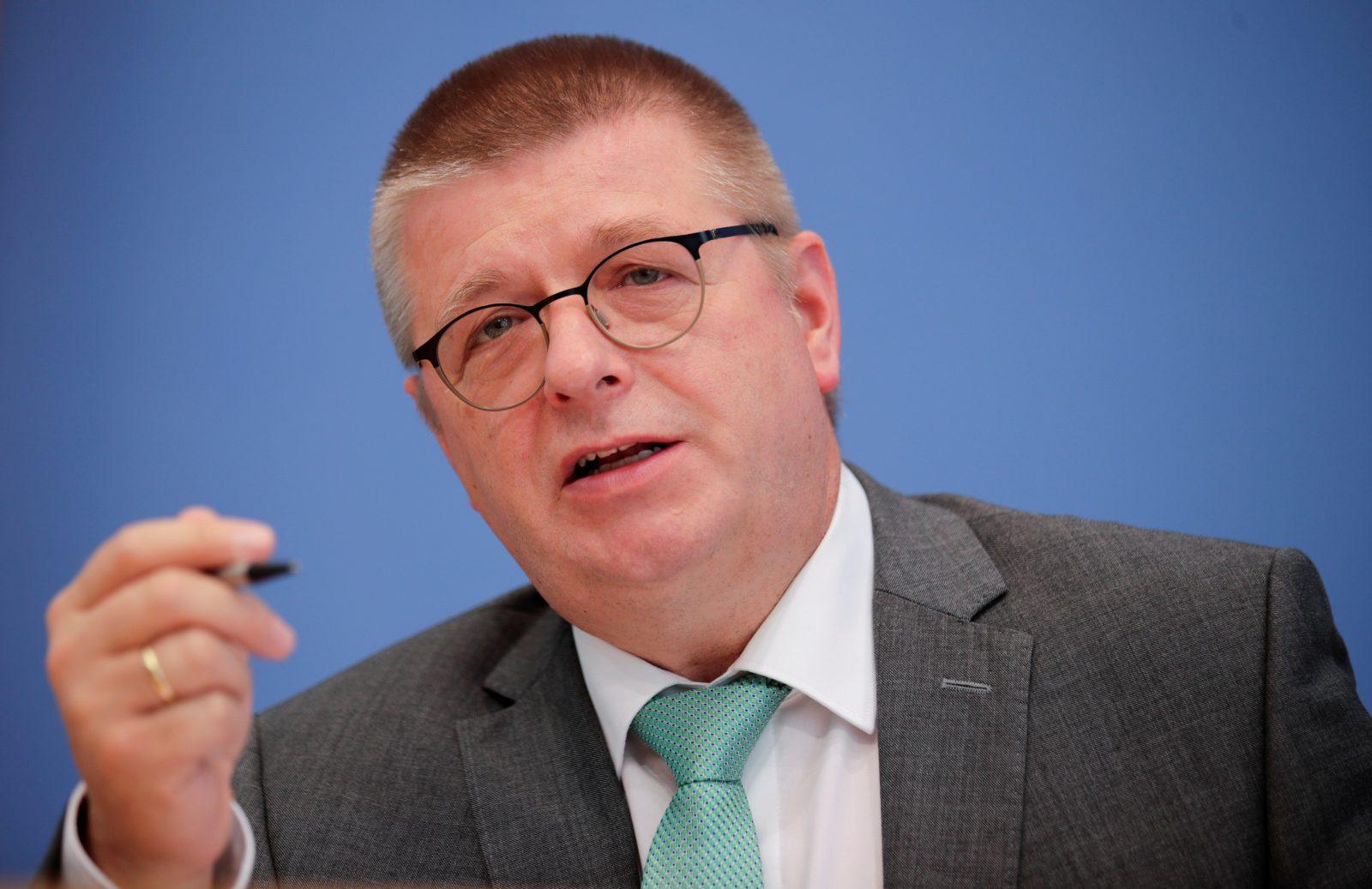 Verfassungsschutzchef Thomas Haldenwang: Hohe Terrorgefahr