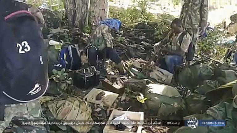 IS-Kämpfer in Mosambik: Die Islamisten haben 50 Menschen enthauptet (Symbolbild) Foto: picture alliance / AP Photo