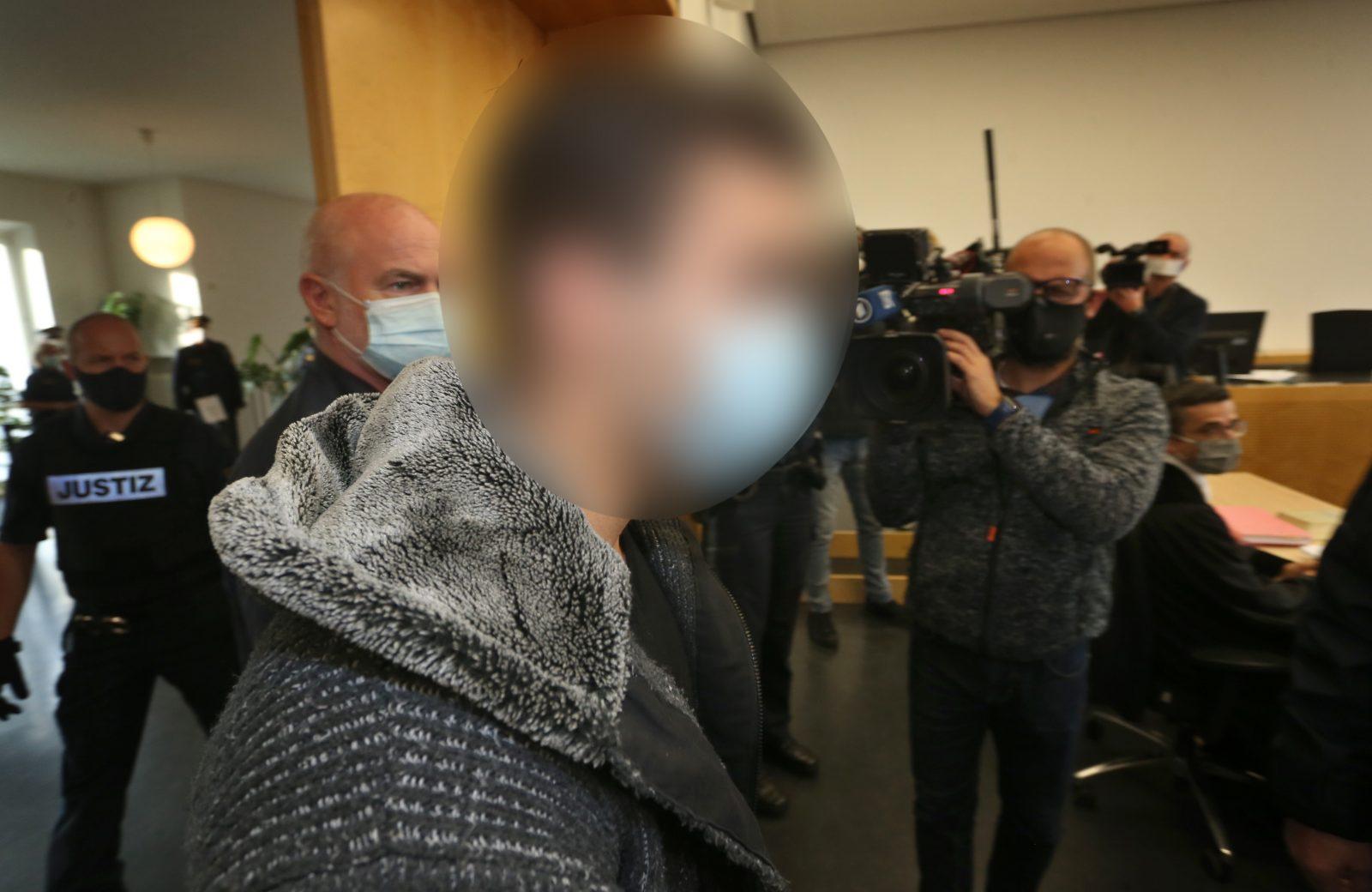 Der Täter Halid S.: Am Nikolaustag 2019 schlug er einen Familienvater tot