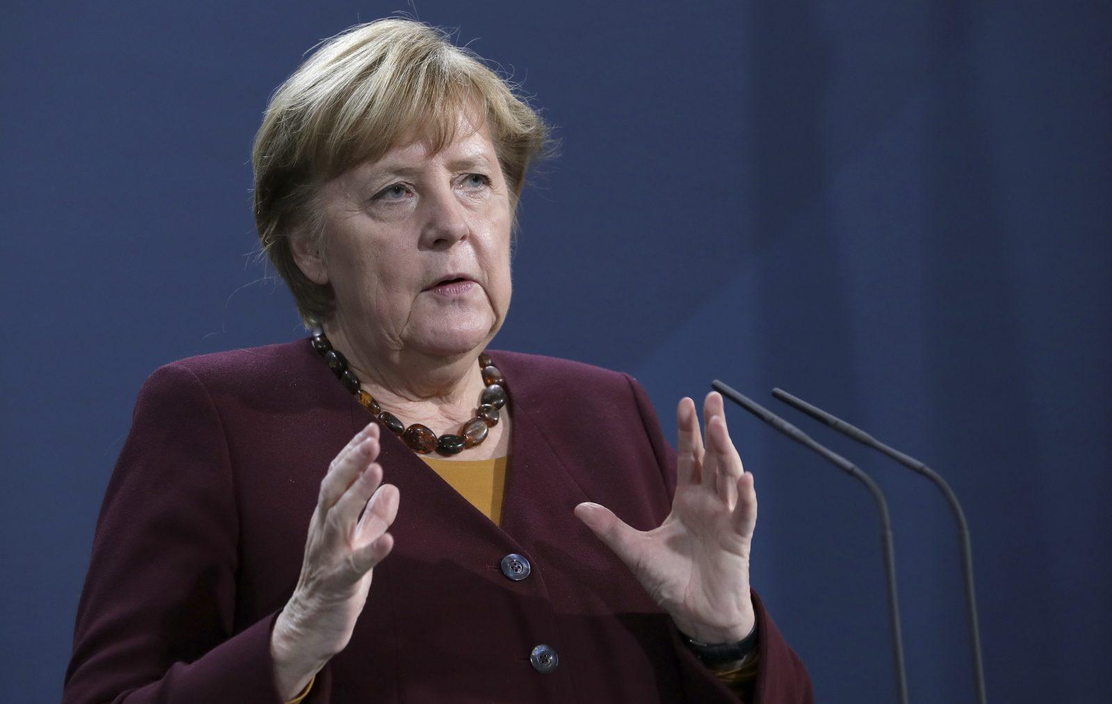 """Kanzlerin Angela Merkel (CDU): """"Wieder ein gewisses Maß an Freiheit"""""""