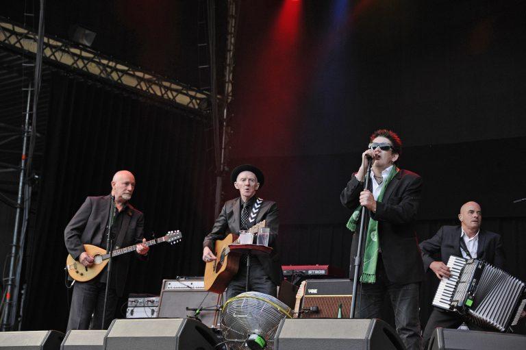 The Pogues spielen einen Auftritt in Hamburg (Archivbild) Foto: picture alliance / Jazz Archiv
