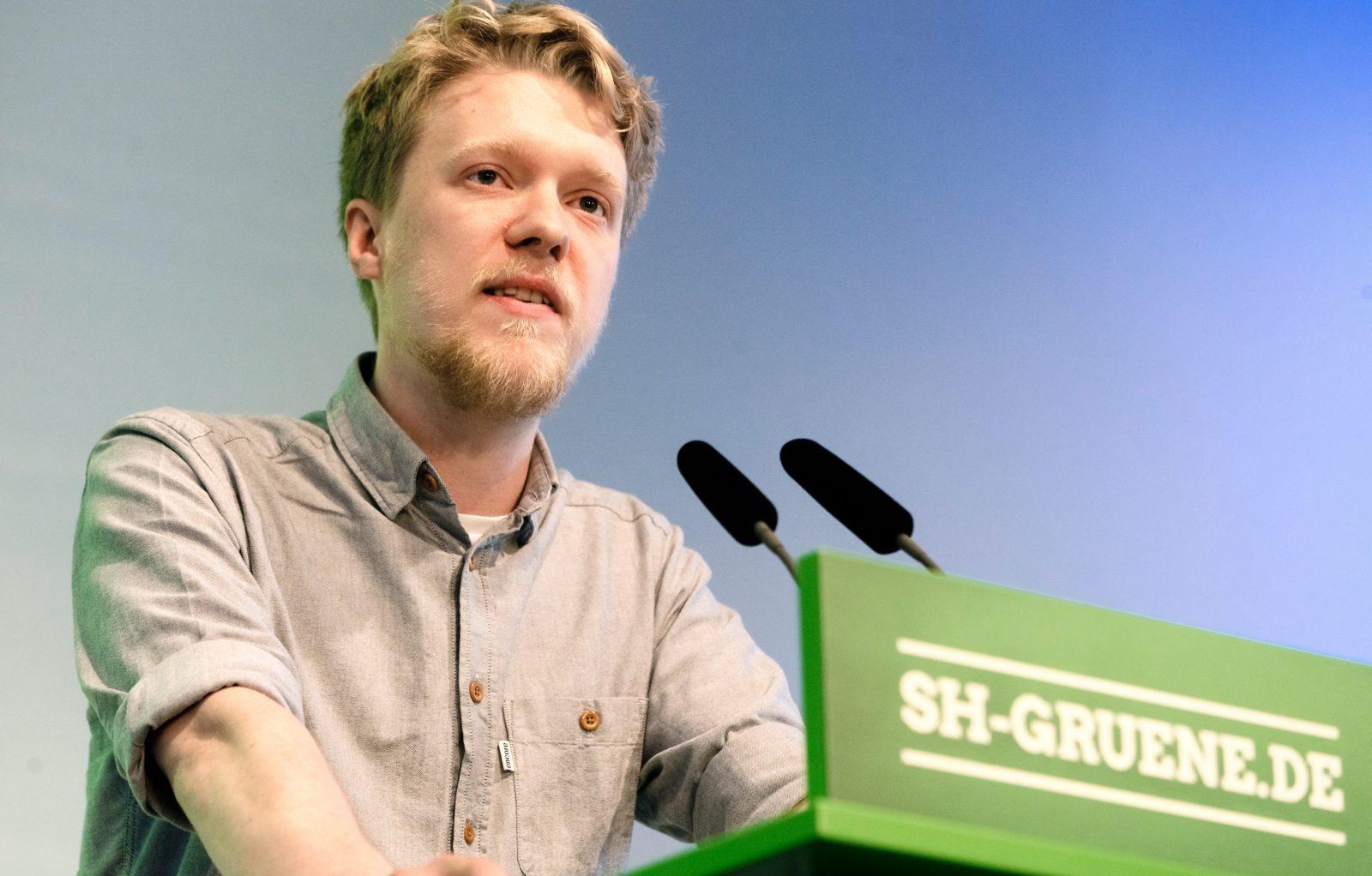 Finanzpolitischer Sprecher der Grünen-Fraktion, Lasse Petersdotter