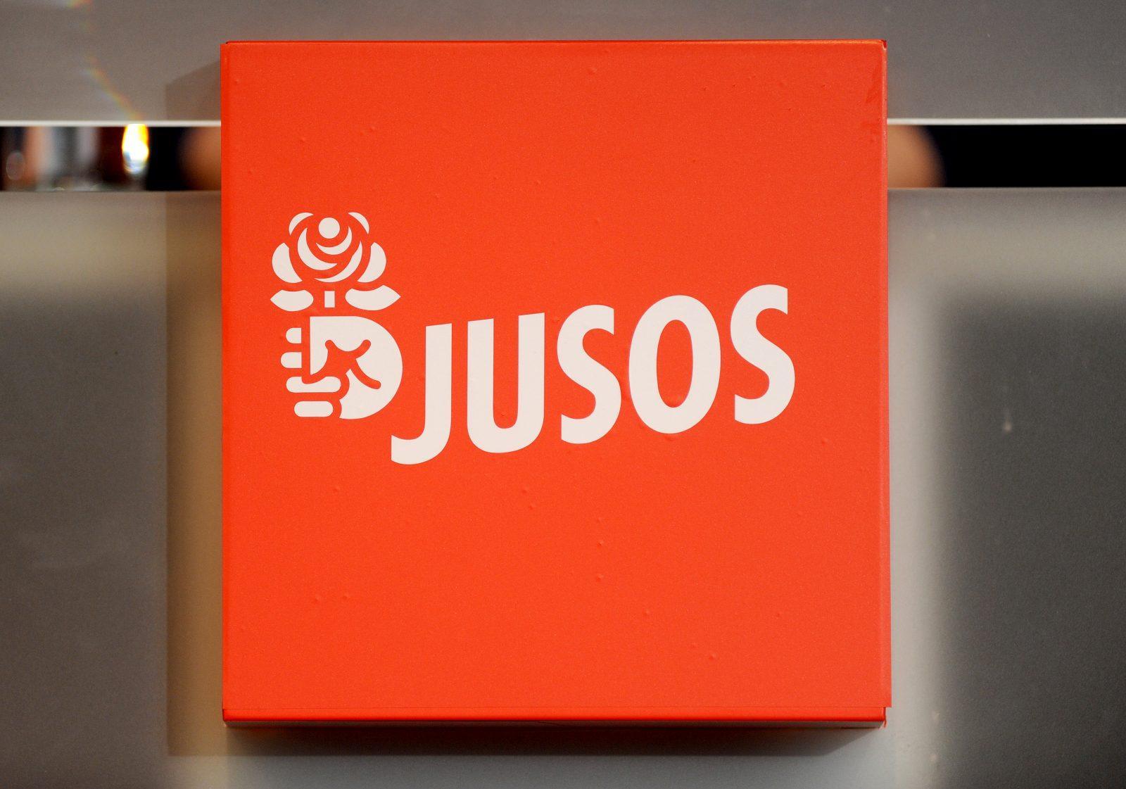 Das Logo der SPD-Nachwuchsorganisation Jusos: Solidarität mit Fatah Jugend sorgt für Kritik Foto: (c) dpa