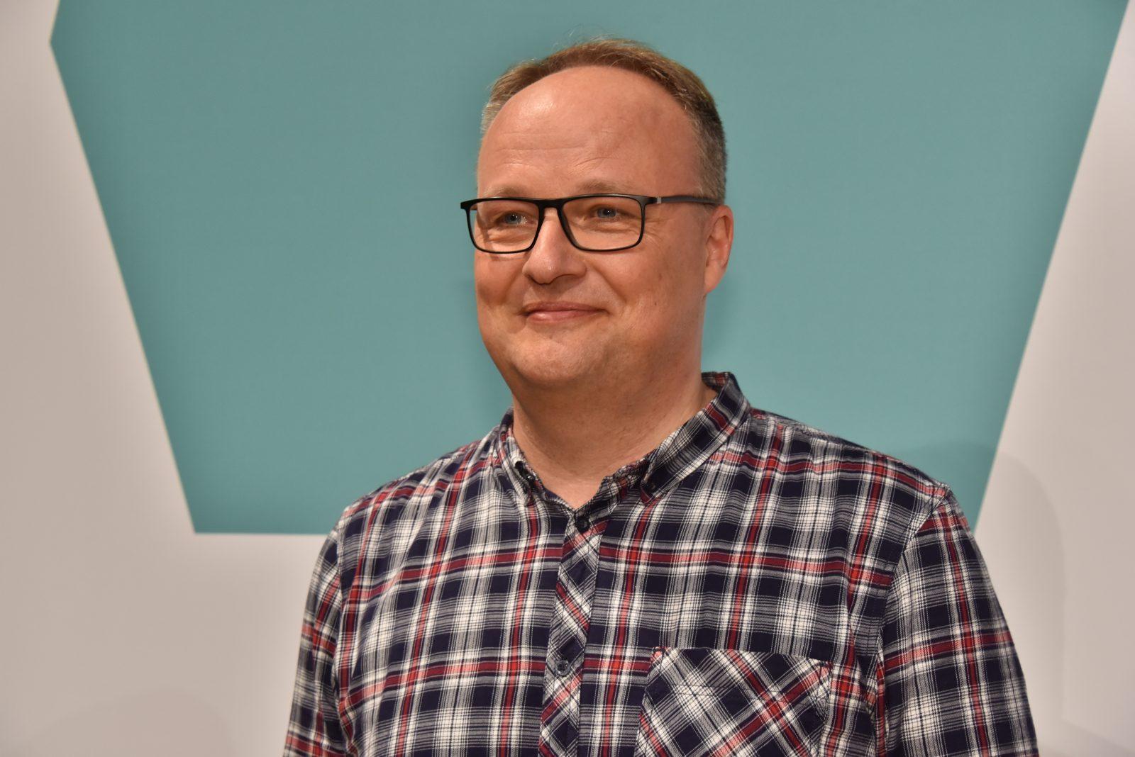 "Der Moderator der ZDF-""Heute Show"", Oliver Welke Foto: (c) dpa"