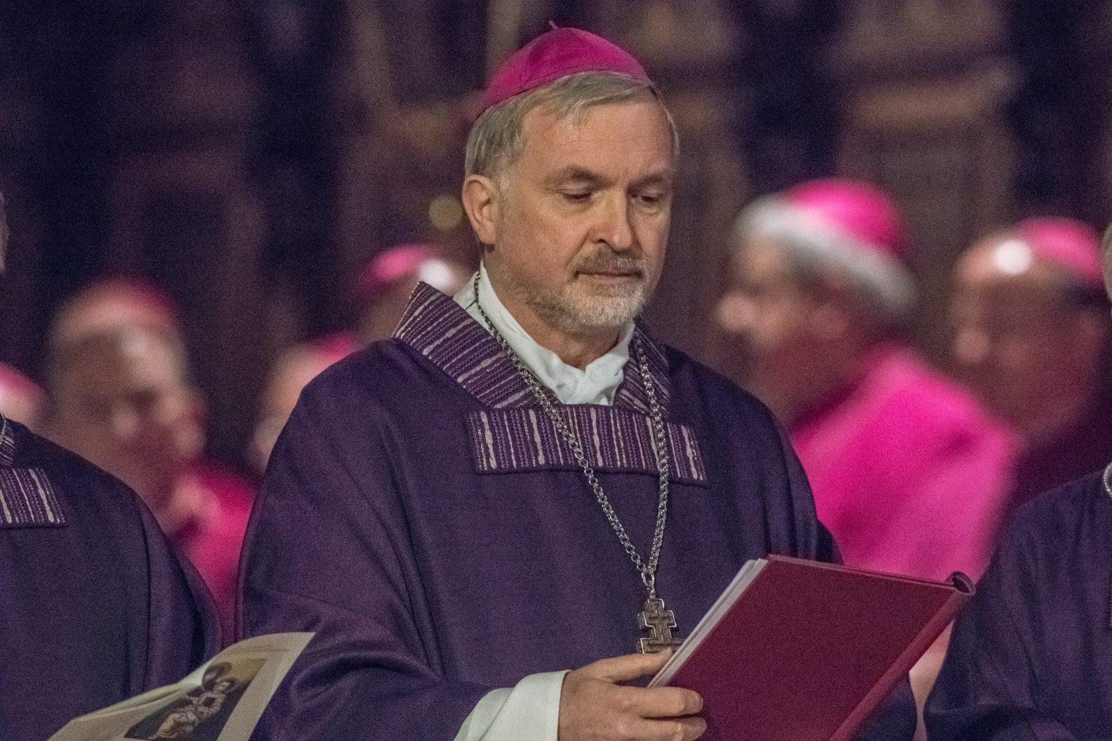 Der Bischof von Eichstätt, Georg Maria Hanke, hätte sich in der Vergangenheit eine Öffnung der Kirche für die Grünen gewünscht Foto: (c) dpa