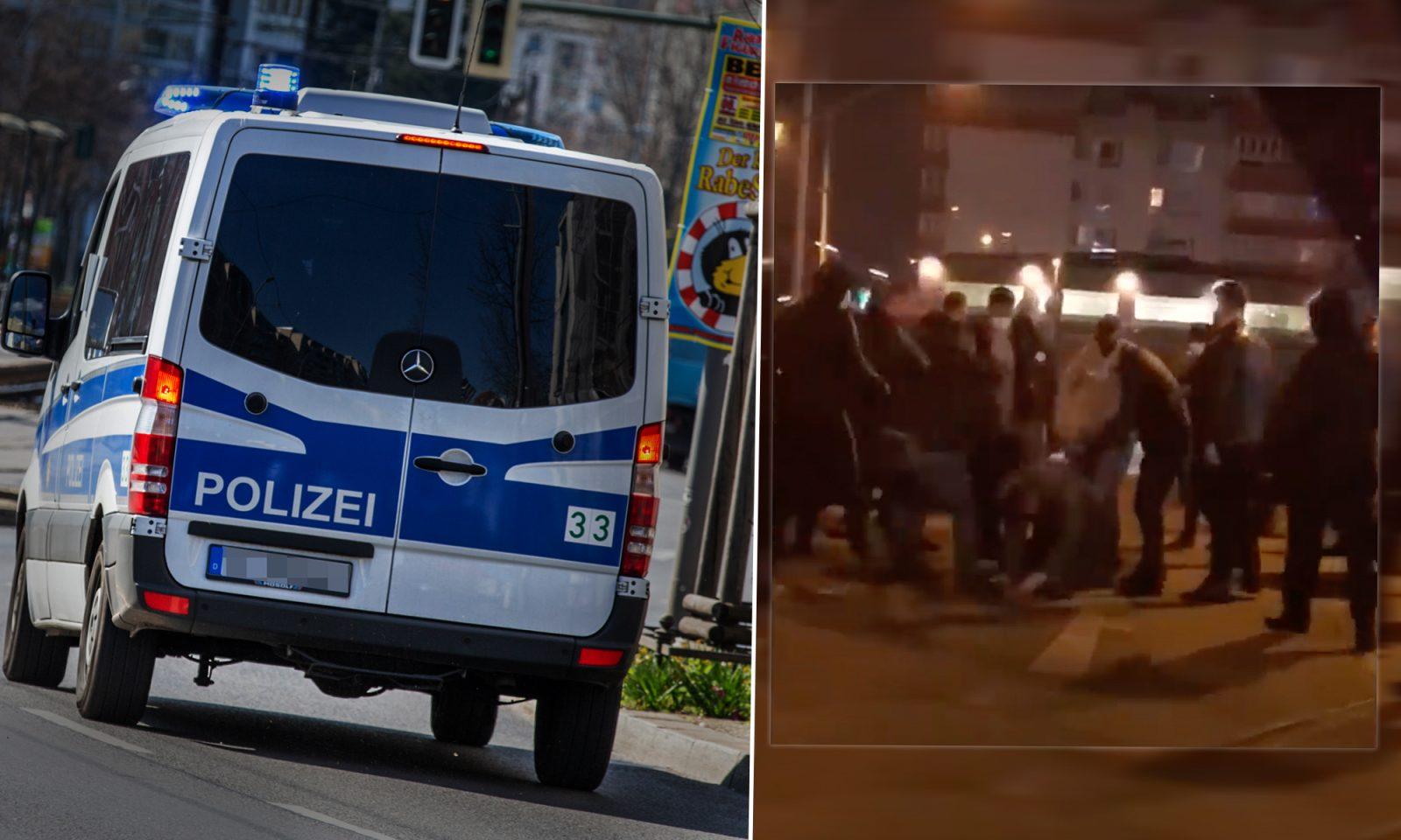 Polizeieinsatz in Berlin, Kampf zwischen Clan-Anhängern und Tschetschenen