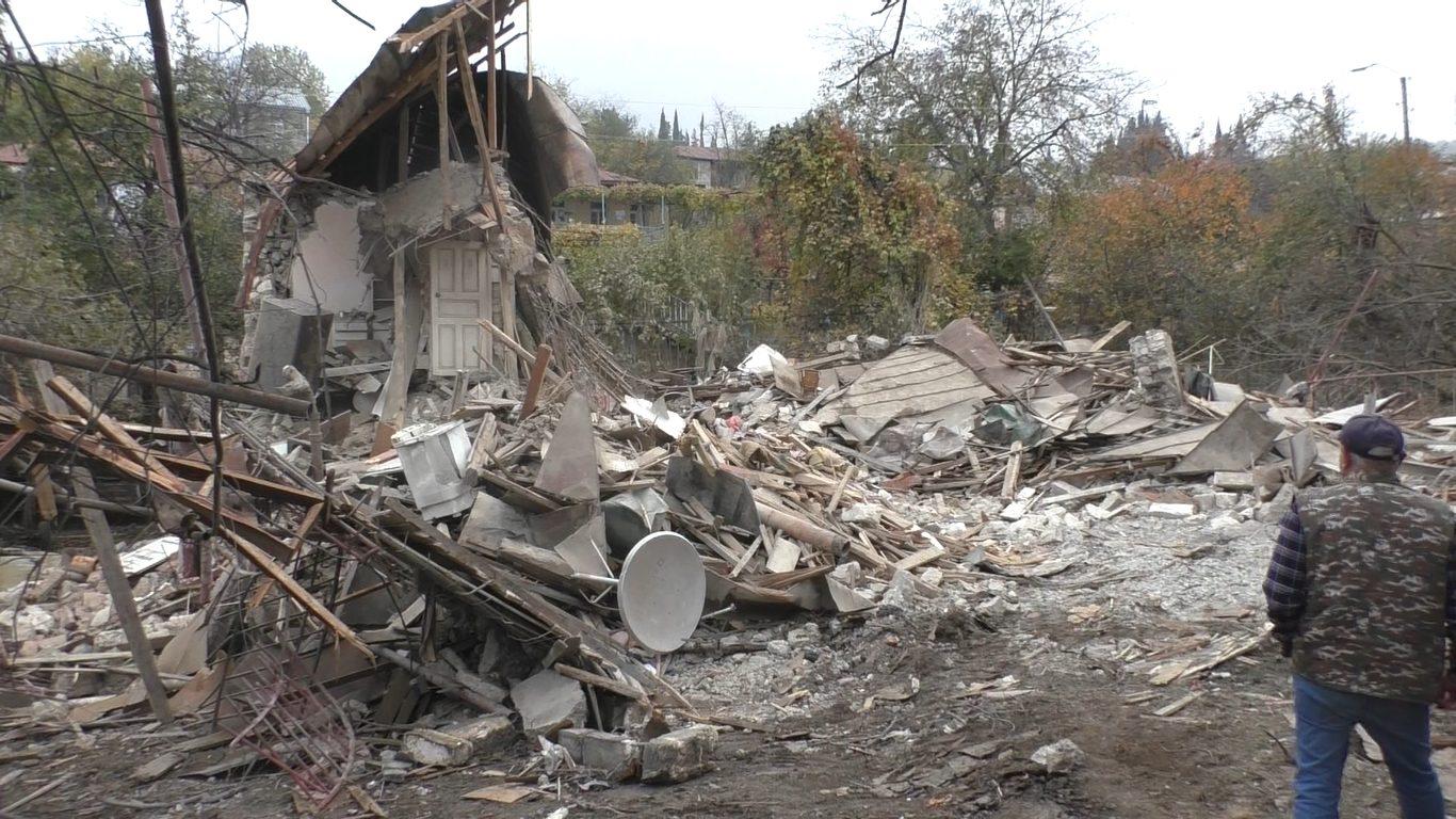 Zerstörung in Armenien