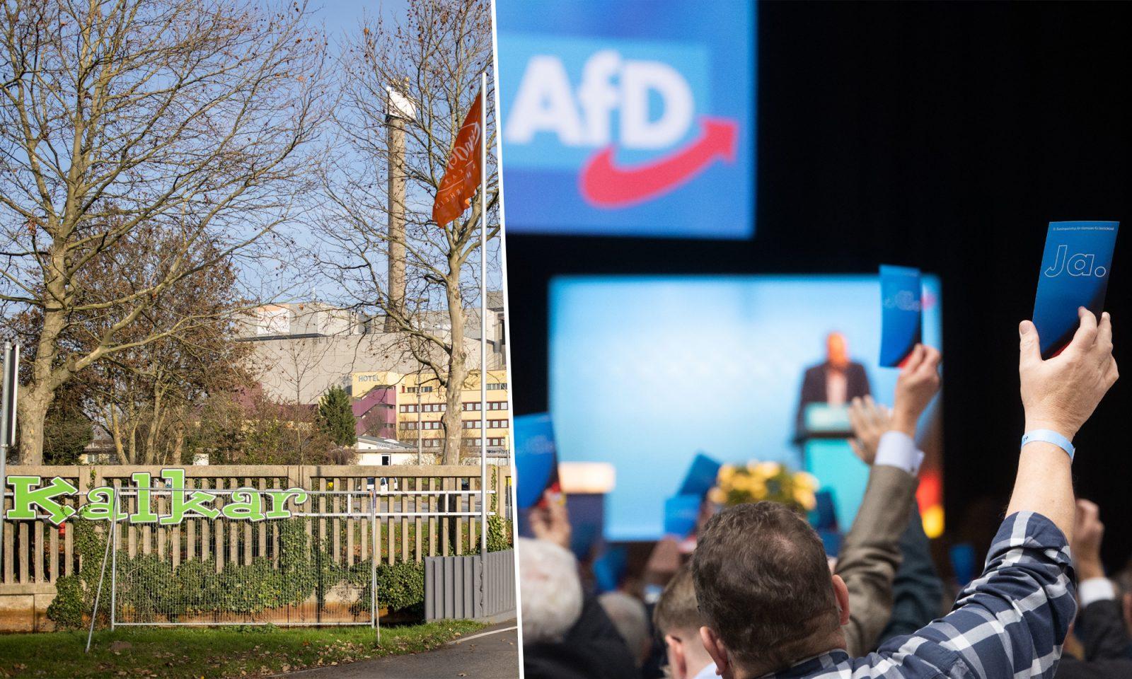AfD-Parteitag in Kalkar