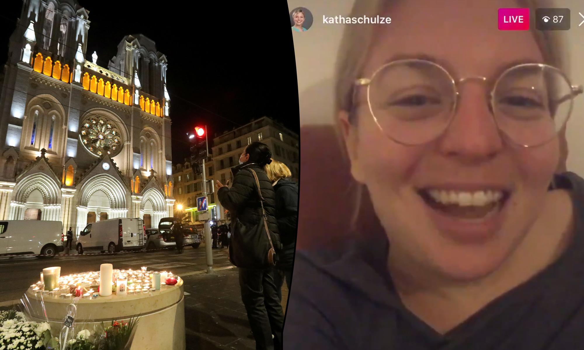 Gedenken an Opfer von Attentat in Nizza, Katharina Schulze freut sich über ihre Ideen