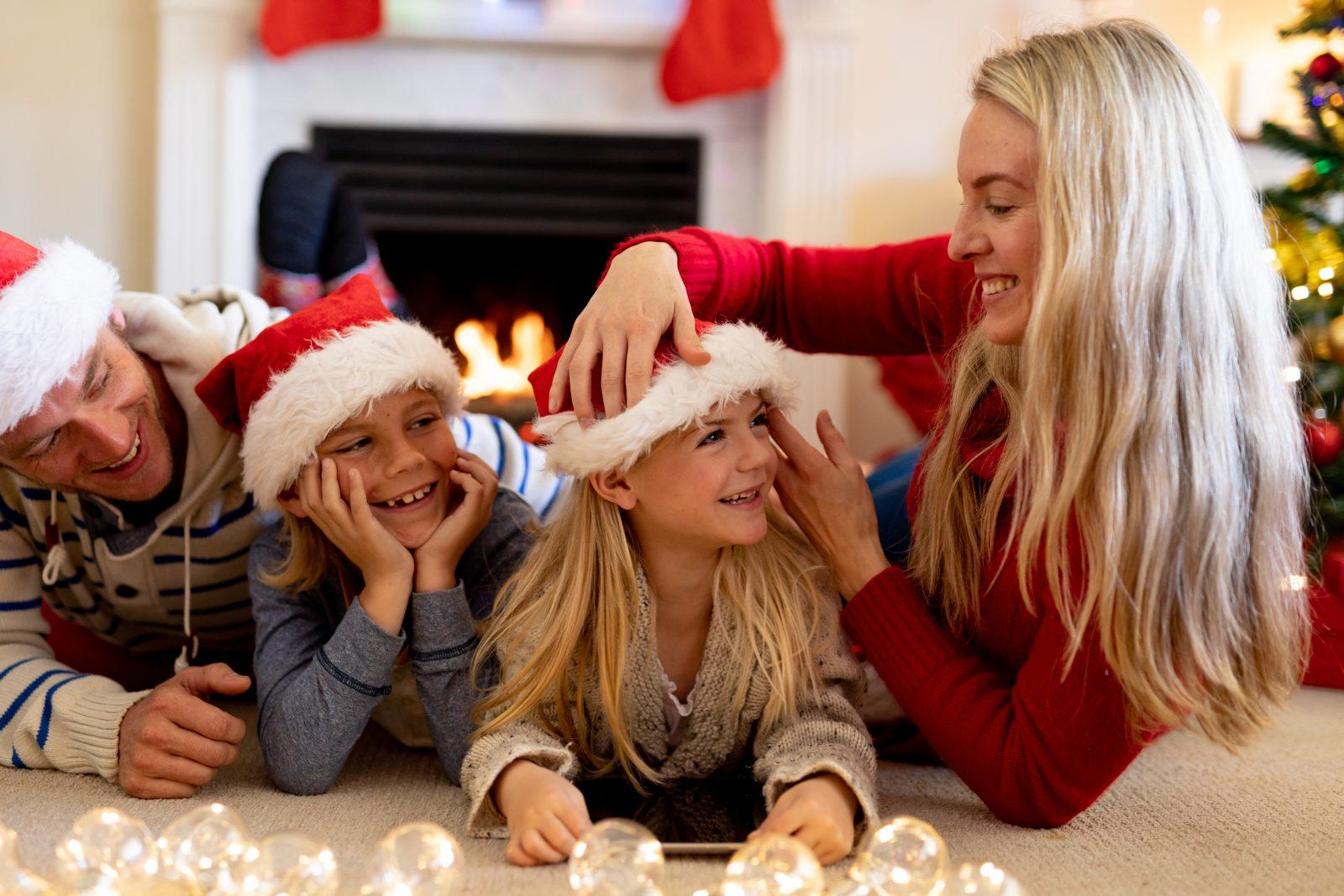 Klassische Familie: Vater, Mutter, Kinder