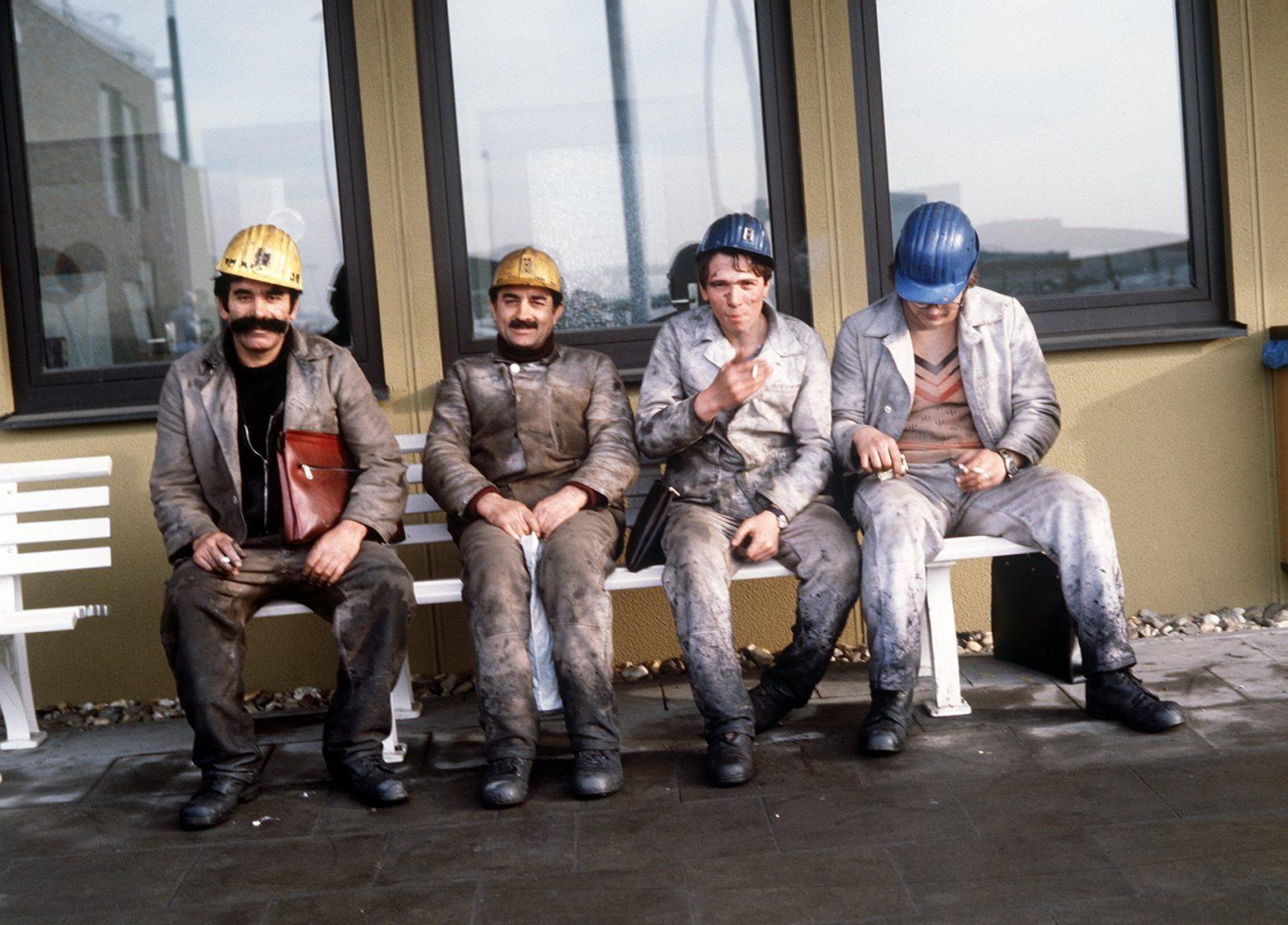 Türkische Gastarbeiter arbeiteten unter anderem im Bergbau (Archivbild) Foto: picture-alliance / dpa | Schulte