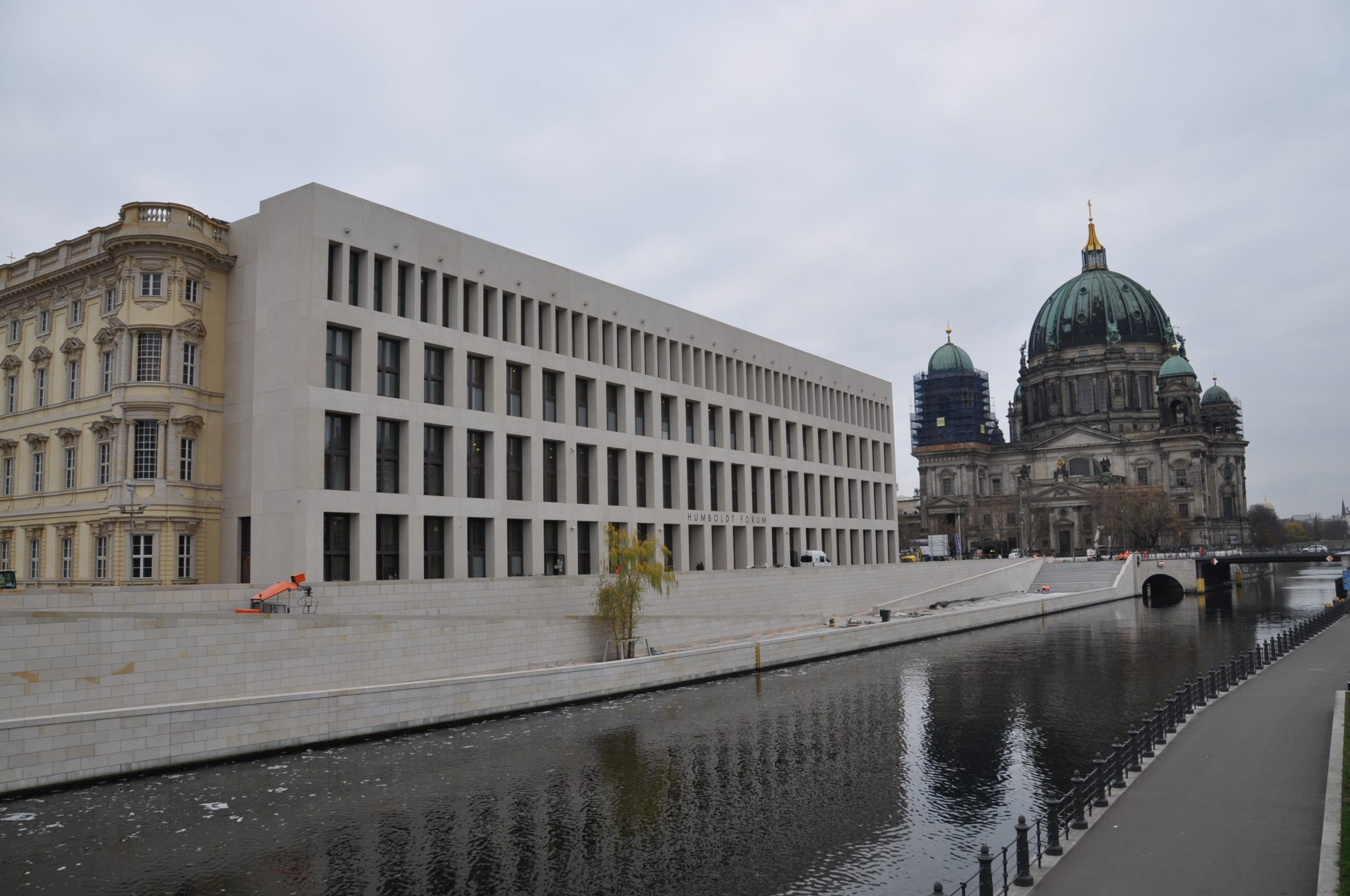 """Humboldt-Forum: Nach dem Willen seines Initiators Klaus-Dieter Lehmann soll es ein """"sozialer Ort"""" werden"""