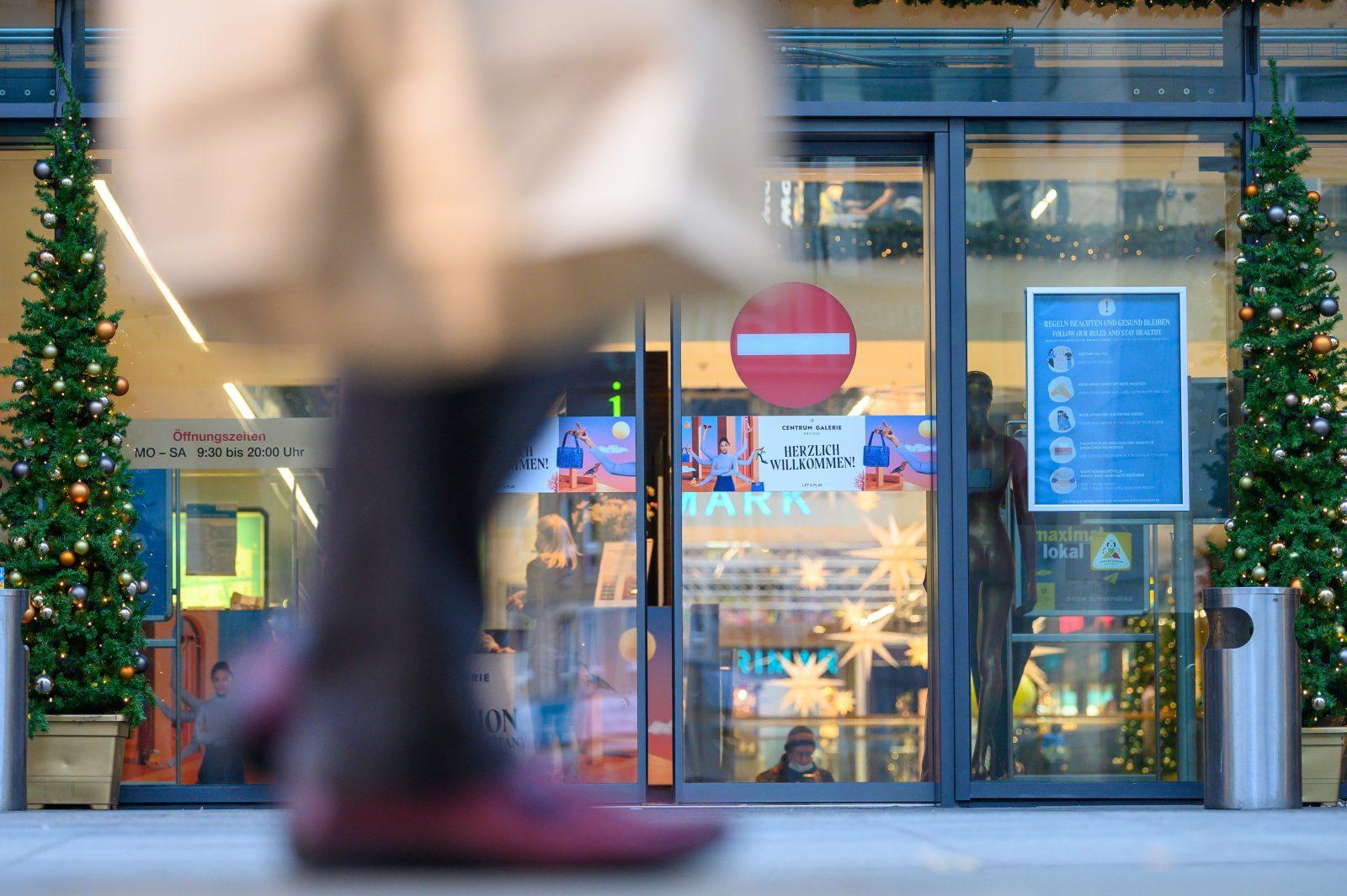 Einzelhandel in Sachsen ab Montag zu: Spitzenpolitiker fordern harte Corona-Einschränkungen