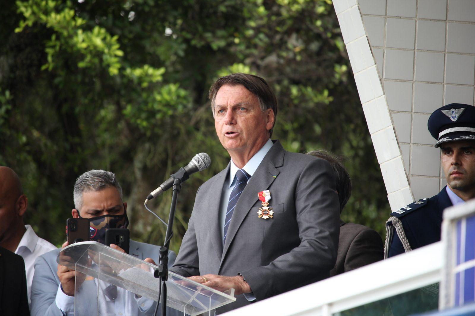 Brasiliens Präsident Jair Messias Bolsonaro muss derzeit keine politische Konkurrenz fürchten Foto: picture alliance / ZUMAPRESS.com | Fausto Maia