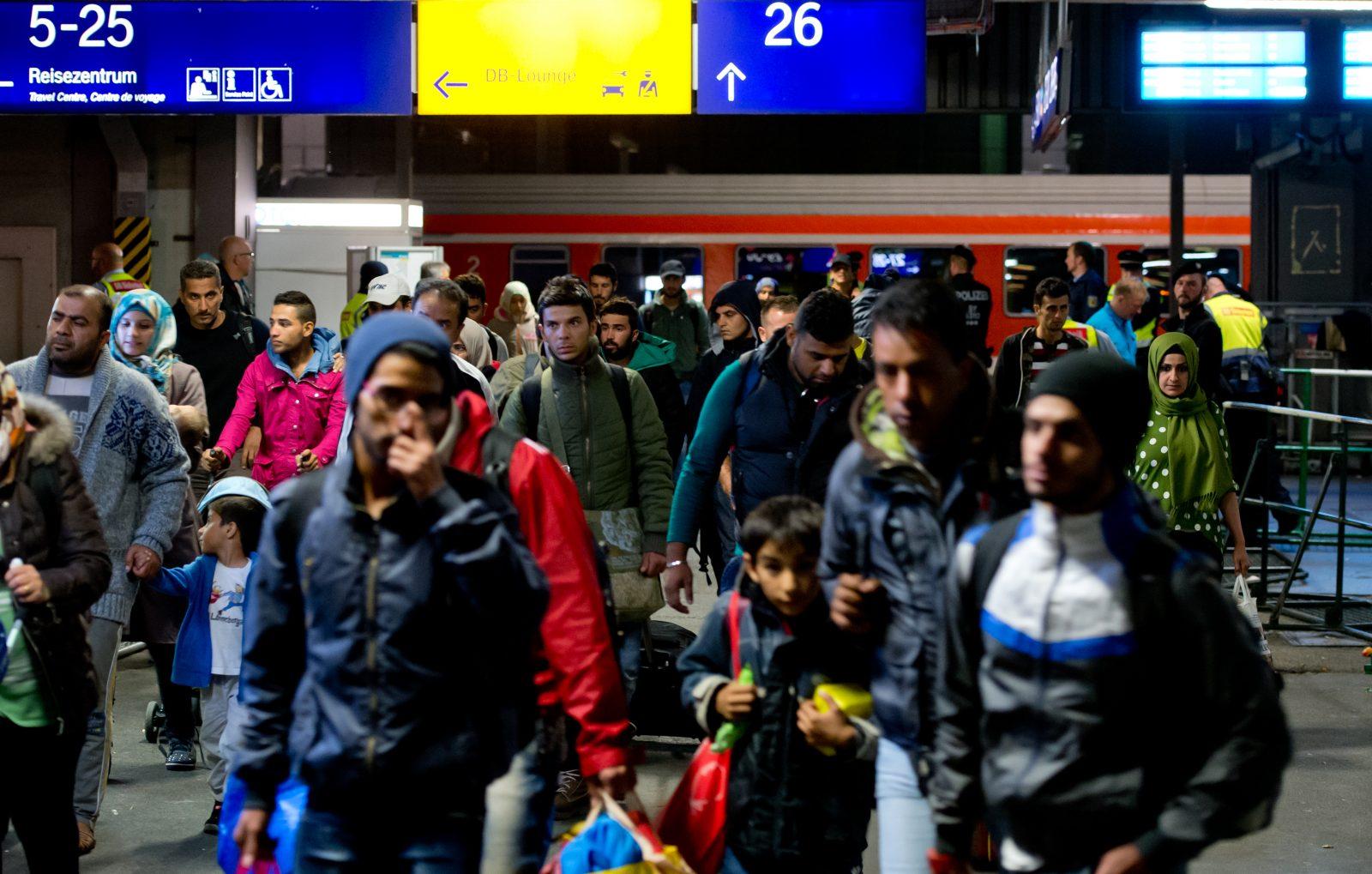 Flüchtlinge am Münchner Hauptbahnhof: Die meisten Asylbewerber stammten 2019 aus Syrien, dem Irak und dem Iran