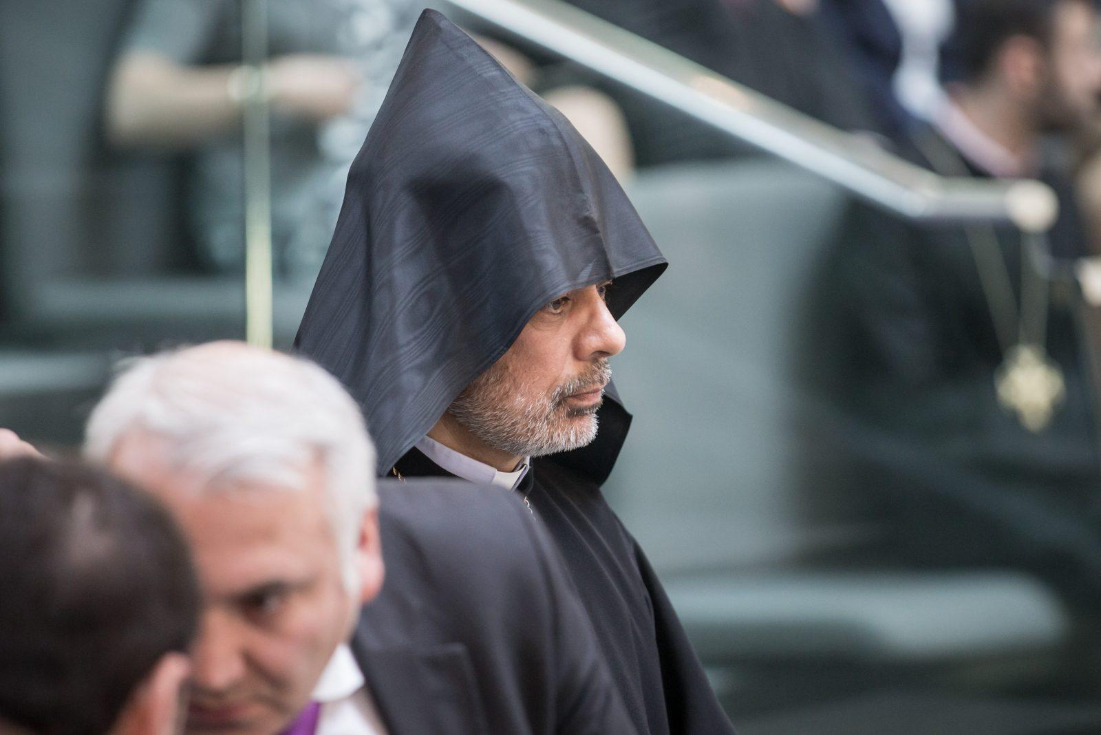 Der Bischof der Armenischen Kirchen in Deutschland, Serovpé Isakhanyan: Türkische Extremisten bedrohten die demokratische Gesellschaft