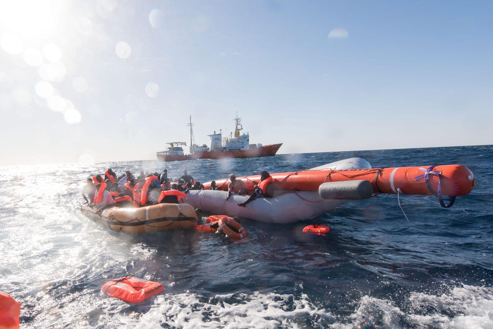 Private Migrantenhilfe im Mittelmeer