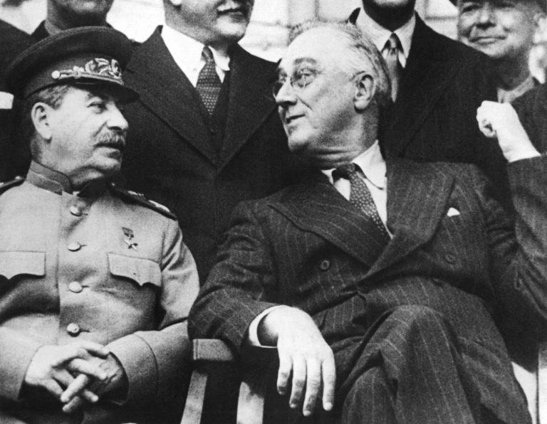 Stalin und Roosevelt