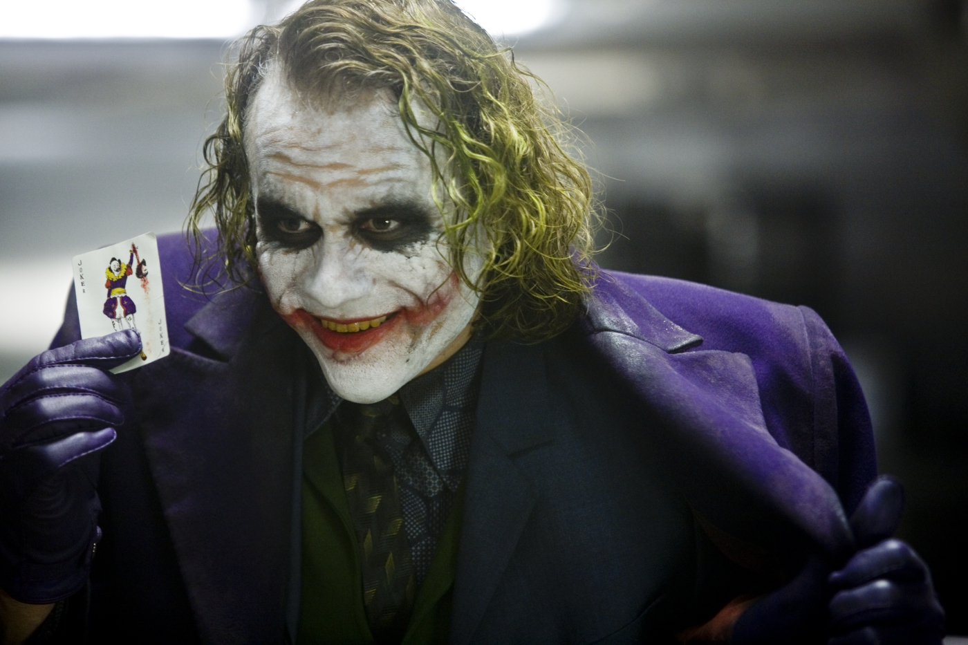 Heath Ledger als der Joker