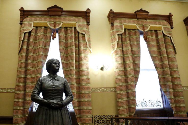 Statue der Sklaverei-Gegnerin Harriet Tubman Foto: picture alliance / ASSOCIATED PRESS | Julio Cortez