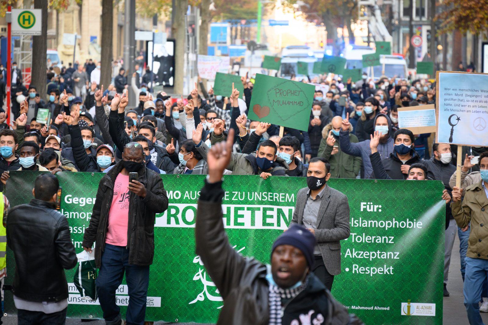 Islamisten demonstrieren in Hamburg: Islamistische Gefahr weiterhin hoch
