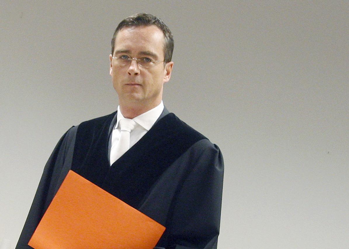 """Der Präsident des Hanseatischen Oberlandesgerichts, Marc Tully: """"Wir müssen andere Meinungen ertragen, mögen sie uns noch so abwegig erscheinen."""""""