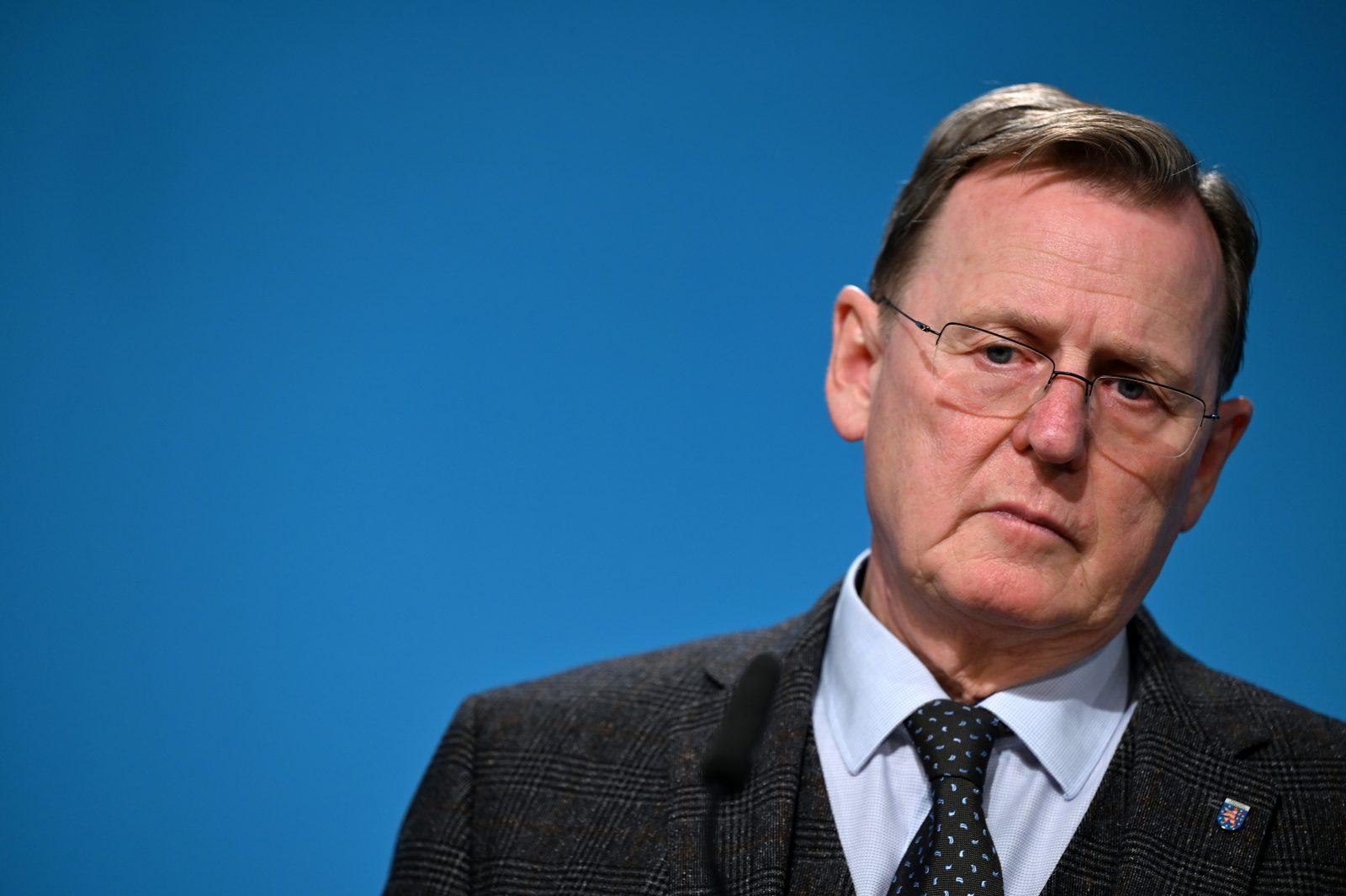 """Bodo Ramelow (Linkspartei): """"Ministerpräsident von Merkels Gnaden"""""""