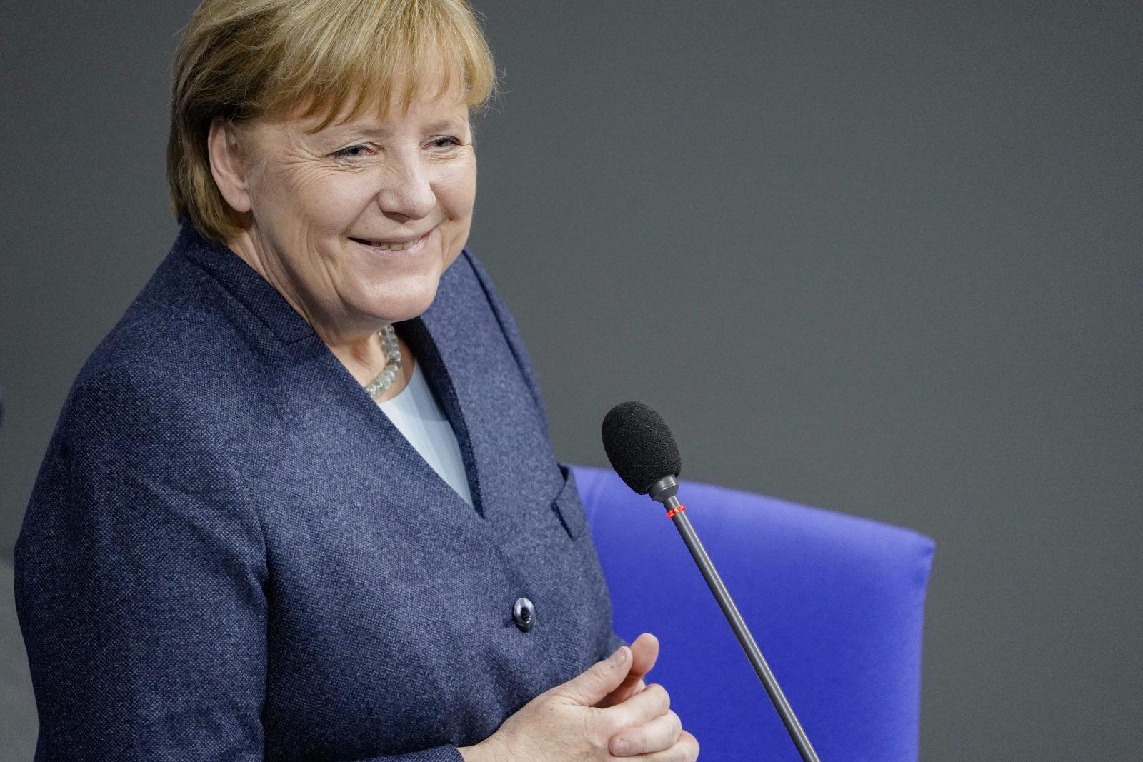 Bundeskanzlerin Angela Merkel (CDU): Vogue lobt die CDU-Politikerin für ihre Bereitschaft, Flüchtlinge aufzunehmen