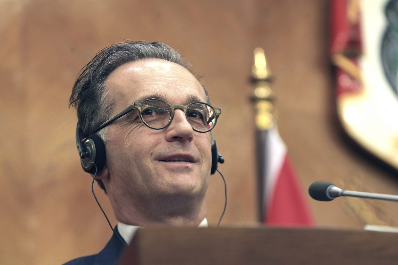 Bundesaußenminister Heiko Maas (SPD) will anderen zeigen, wie Demokratie geht Foto: picture alliance / ASSOCIATED PRESS | Raad Adayleh