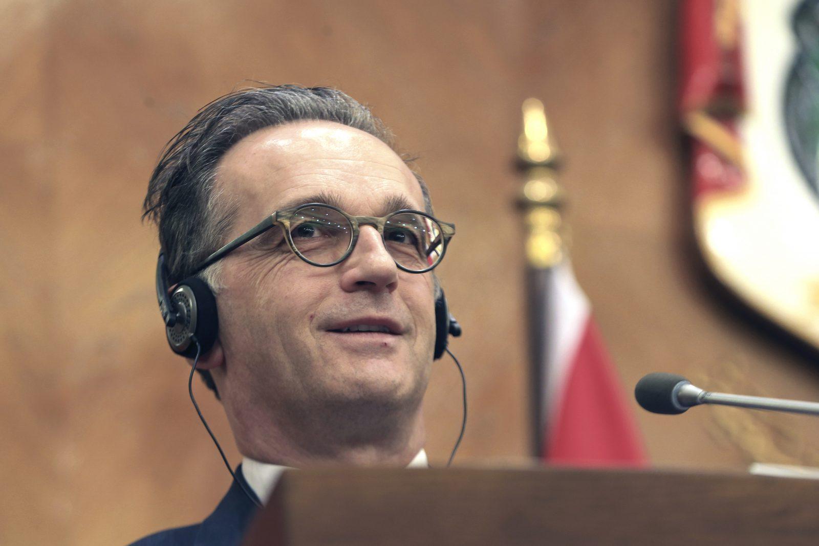 Bundesaußenminister Heiko Maas (SPD) will anderen zeigen, wie Demokratie geht Foto: picture alliance / ASSOCIATED PRESS | Raad Adayleh