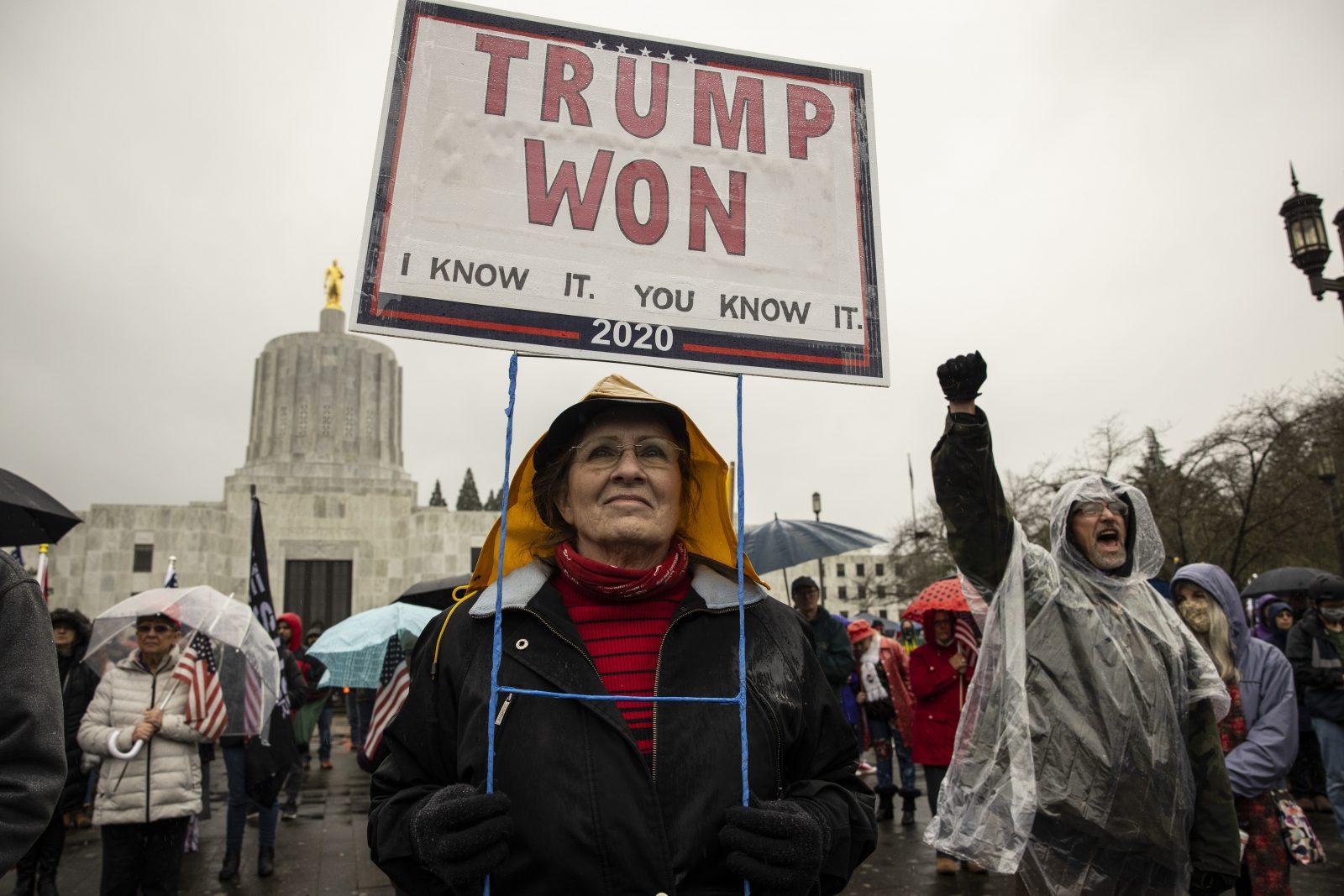 Trump-Anhänger am 6. Januar: Ein Umsturzversuch sieht anders aus