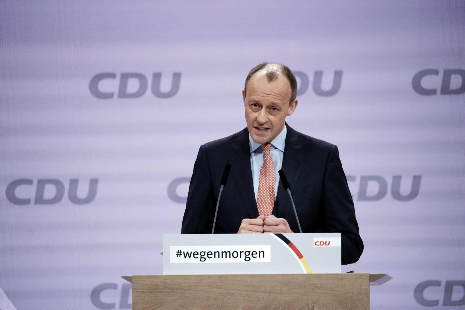 Friedrich Merz: Bot nach Wahlniederlage an, Wirtschaftsminister zu werden