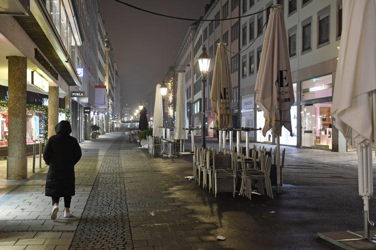 """Verwaiste Innenstadt: """"Lockdown"""" verlängert"""