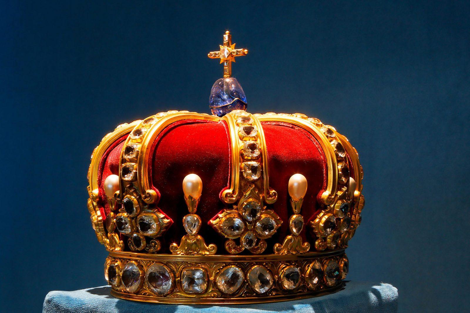 Die preußische Königskrone, die zur Krönung Friedrichs I. 1701 verwendet wurde. Noch brauchbar für das Deutsche Reich? Foto: picture alliance / dpa | Haus Hohenzollern