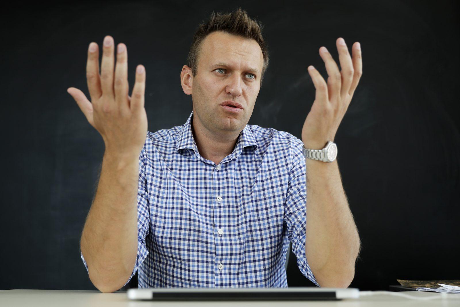 Der russische Oppositionspolitiker Alexej Nawalny überlebte im August einen Giftanschlag