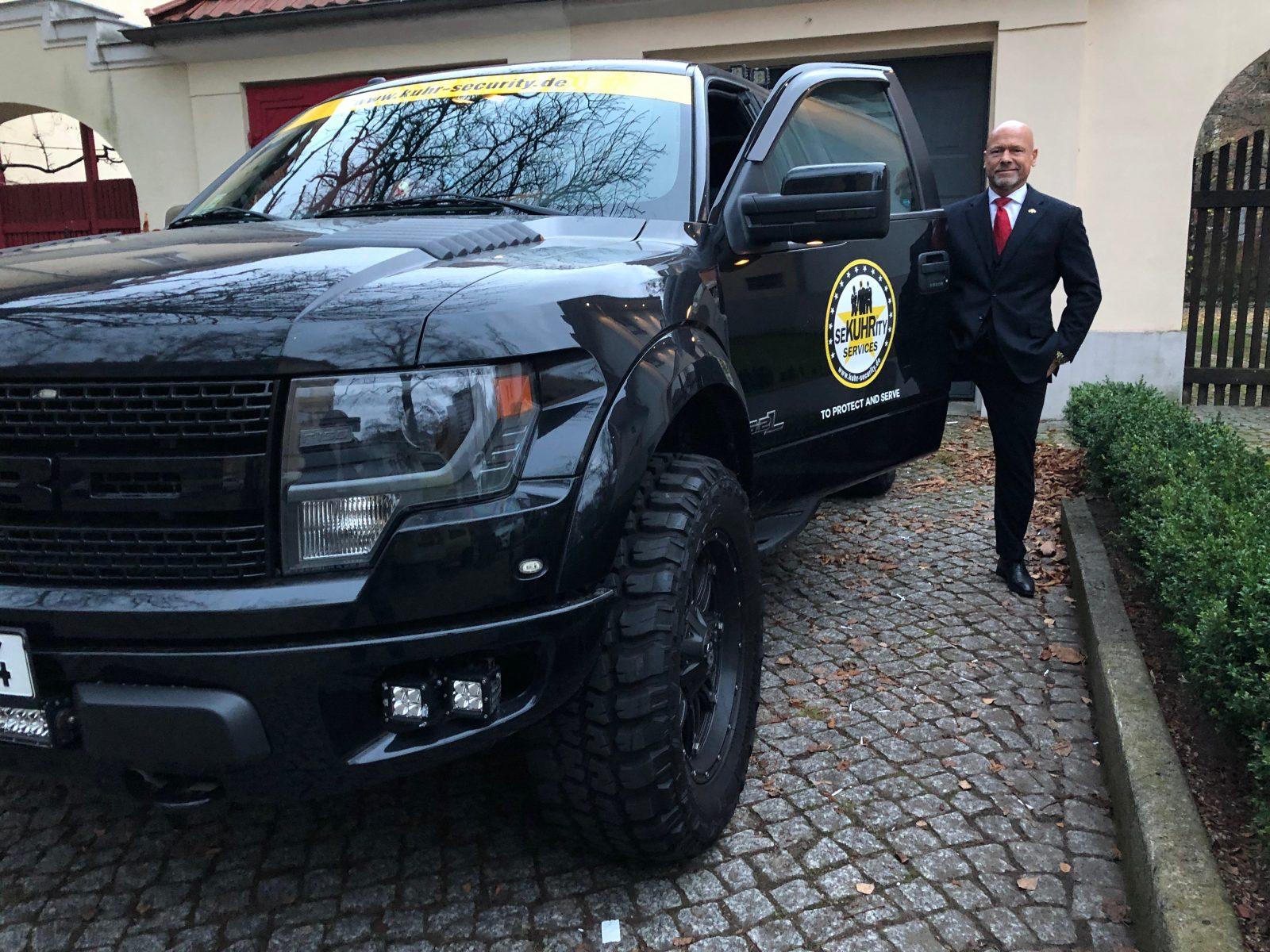 Michael Kuhr und sein Ford Raptor SVT